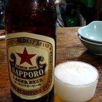 大衆割烹 すみれ - 瓶ビール 550円