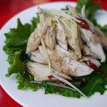 チャオバンブー - 蒸し鶏のねぎ油ソース
