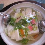 西源院 - 湯豆腐拡大