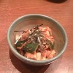 一鶴 横浜西口店 - トリキムチ