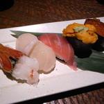 北の味紀行と地酒 北海道 - おまかせ寿司
