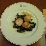 ブラッセリー・ヴァトゥ - 本日のランチ 1000円 の帆立のポアレ クミン風味