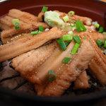 めしやっちゃん - 料理写真:煮穴子丼