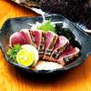 和肴 鉄板 アキラ - 料理写真:土佐カツオの塩タタキ