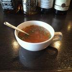 カルチェラタン - ランチのスープ