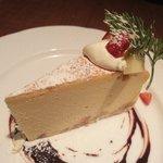 ランズ カマクラ - ベイクドチーズケーキ