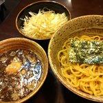 錦堂 - ネギつけ麺(950円)
