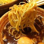錦堂 - ネギつけ麺 アップ