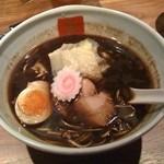 五行 代々木上原店 - 焦がし醤油麺