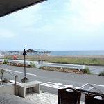 サザンビーチカフェ - テラスからの景色