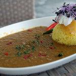 サザンビーチカフェ - アップルマンゴーとリコッタチーズカレー