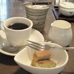 つみ草の家 - 箱膳つみ草 デザート、コーヒー