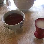 神鍋山荘 和楽 - お茶と甘酒