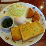 花ふぇおれ - ガーリックトースト