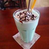 花ふぇおれ - チョコミントドリンク