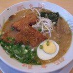 豚太郎  - みそカツラーメン ¥780