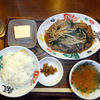 ご飯中 - 料理写真:レバニラ炒め定食