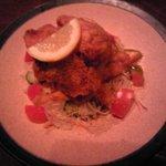 たべもんや味輝 - 若鶏唐揚げ450円