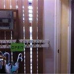アナログ カフェ ラウンジ トーキョー - 4階の入り口