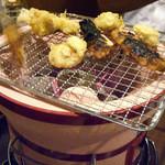 さかな市場 - 「さかな市場小倉魚町店」七輪焼