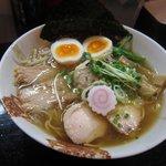 麺屋33 - 特性 丸鶏旨味そば(塩)
