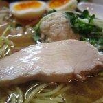 麺屋33 - 特性 丸鶏旨味そば(塩) 鶏チャーシュー