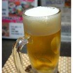 牛たん炭焼 利久 - ランチで生ビールも飲めますよ