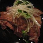 沖縄料理 波乃上 - ラフテー