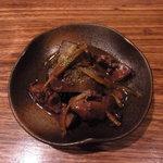 そば切り てらうち - 鳥肝の生姜煮
