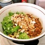 麺屋レノン - 汁なし担担麺