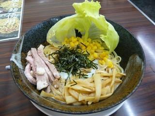 彩色ラーメンきんせい - サラダ風ピリ辛冷麺[\750]