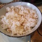 キッチンとらじろう - [ランチ]麦飯