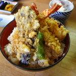 まるやま - 天丼らんち1000円