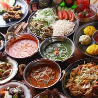 おひとり様3500円!!2時間たっぷり♪インド・ネパール『食の旅』
