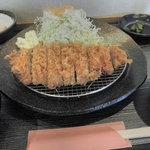 ゆうたく - ろーすカツ定食 880円 2011.8