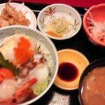 北の海道 - 海鮮丼セット