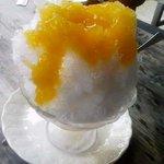 清水屋みやげ店 - かき氷 マンゴー