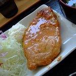 定食屋 大盛亭 - ワンコインランチ(みそぶた) 2