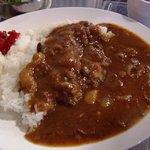 赤坂食肉センター - 牛すじカレー。とろとろで美味しいよ♪