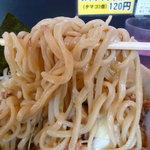 用心棒 本号 - つけ麺の麺(つけ前)
