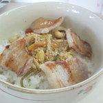 グリル 塩豚 - 豚バラビビンバ(ミニ 200円)