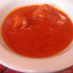 ボビさん - トマトベースの海老カレー