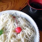 甘味処弁慶 - 冷やし葛うどん
