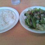 屋久島オリオン - 飛び魚と野菜のオリーブオイル炒め