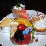 ケーキハウス フランセ ヤノ - オススメが桃のケーキ!