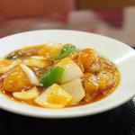 中国四川料理 あらき - 酢豚