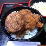ヨーロッパ軒 - ミックスカツ丼(B) 1,150円
