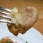 ベジラボ - 鶏肉の旨みが凝縮したような美味しさで、マスタードとフォンドボーのソースが絶品でした