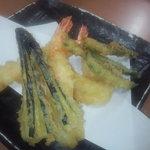 天ぷら徳家 - 熱々天ぷら、2回目 【 2011年8月 】