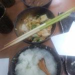 天ぷら徳家 - イカ塩辛・キムチ・大根おろし、食べ放題 【 2011年8月 】